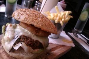 Chinaskis burger Glasgow