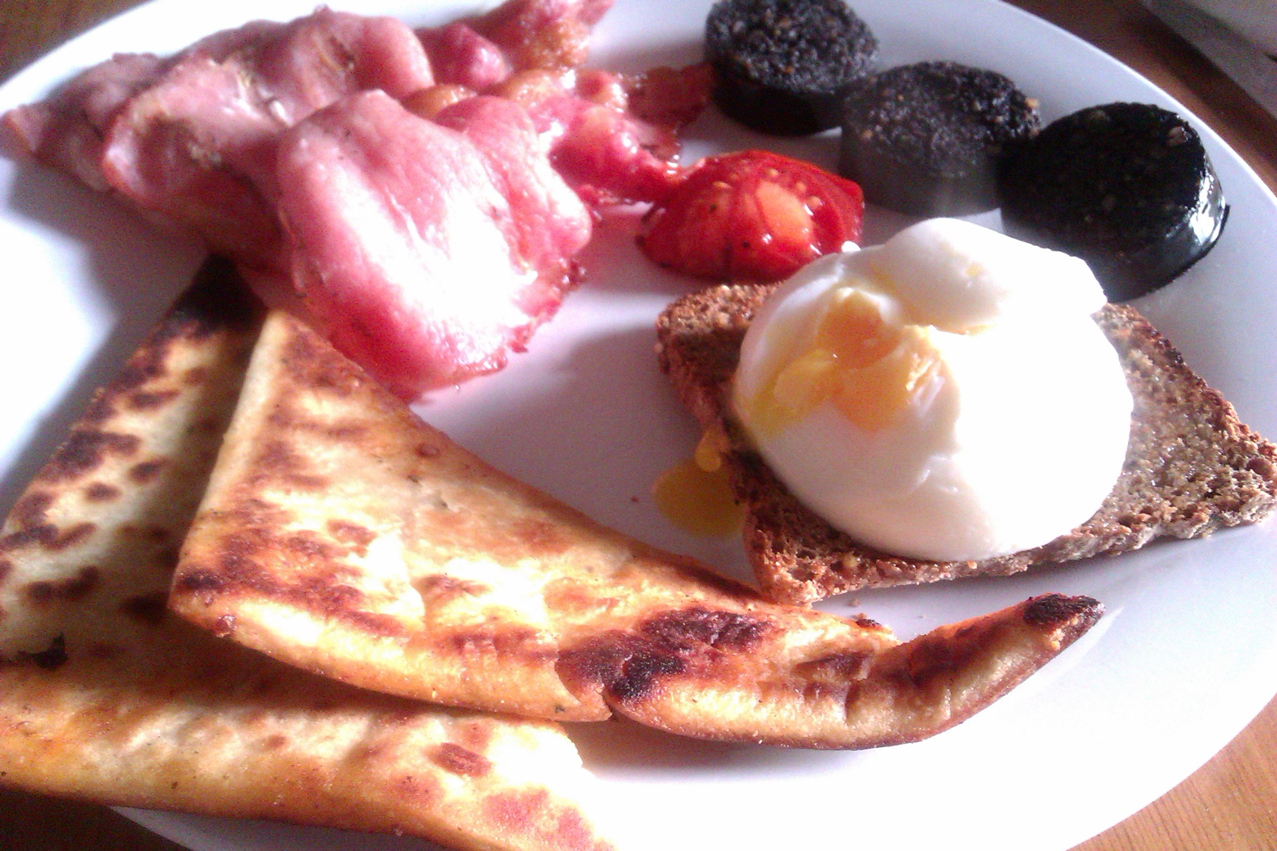 The finished article, breakfast of champions