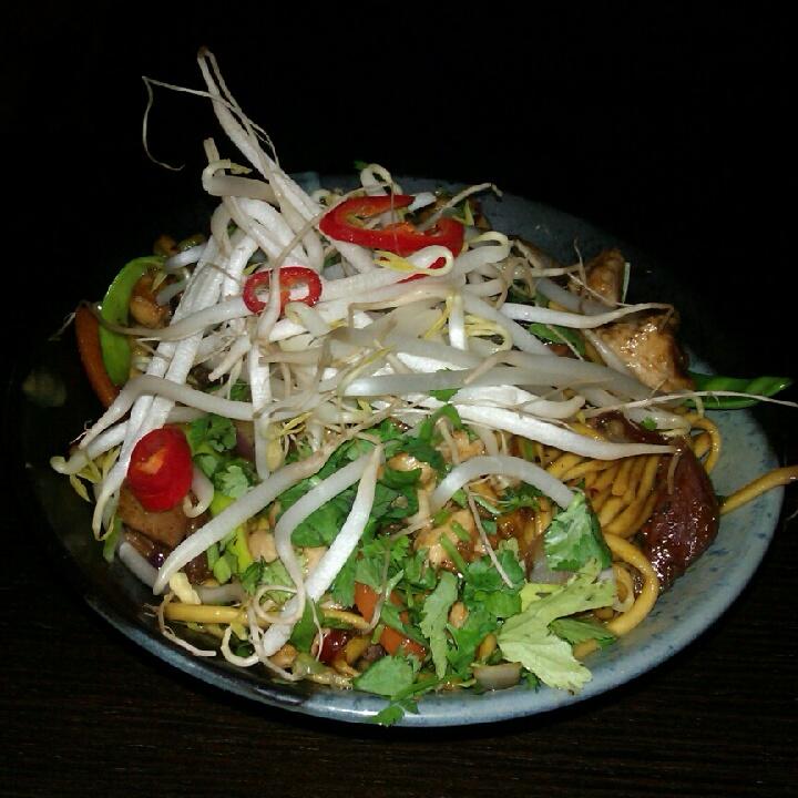 Singapore noodles, mmmmm